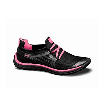 "Rykä® ""Desire"" Running Shoe - Black/Pink"