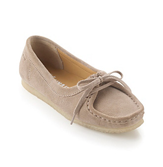 """Clarks® """"Wallabee Chic"""" Casual Flat"""