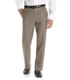 Calvin Klein Men's Straight Fit Large Check Dress Pant