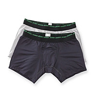 Jockey® Men's Graphite and Silver 2-Pack Boxer Briefs