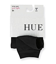 HUE® Girl's Black Footless Tights