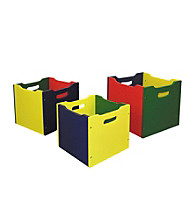 Ore International™ 3-pcs. Nesting Toy Boxes