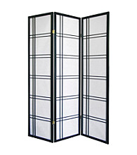 Ore International™ Girard 3-Panel Room Divider