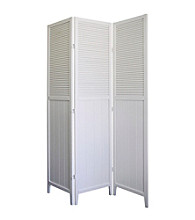 Ore International™ Shutter Door Panel Room Divider