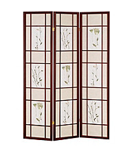 Ore International™ Cherry Shoji Screen