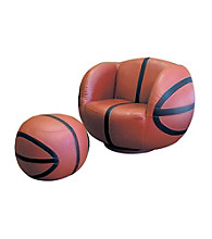 Ore International™ Basketball Chair & Ottoman set