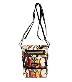 sakroots™ by The Sak® White Peace Print Small Flap Messenger