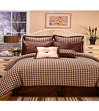 Houndstooth 8-pc. Comforter Set by Home Fashions International