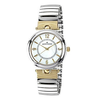 Anne Klein® Ladies' Two-Tone Expansion Watch