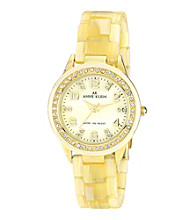 Anne Klein® Women's Plastic Sport Watch
