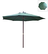 International Concepts 9' Hunter Green Market Umbrella