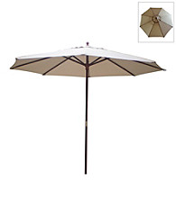 International Concepts 9' Natural Market Umbrella