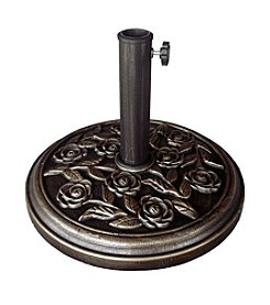 International Concepts Rose-Patterned Umbrella Stand