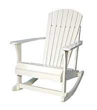 International Concepts White Adirondack Porch Rocker