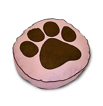 Home Fashions International Paw Print Dog Bed