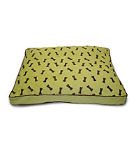 Home Fashions International Ultima Suede Dog Bone Dog Bed