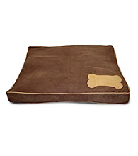 Home Fashions International Ultima Suede Small Bone Dog Bed