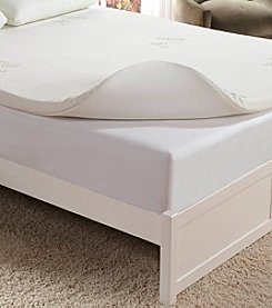 Home Fashions International Memory Foam Mattress Topper