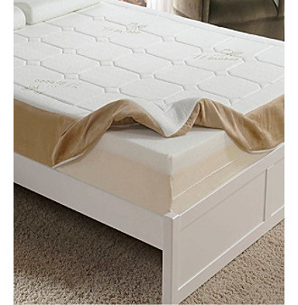 "Home Fashions International 8"" Memory Foam Mattress"