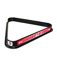 Trademark Games™ University of Utah Billiard Ball Triangle Rack