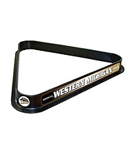 Trademark Games™ Western Michigan University Billiard Ball Triangle Rack