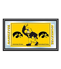 Trademark Games™ University of Iowa Logo and Mascot Framed Mirror