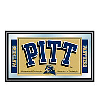 Trademark Games™ University of Pittsburgh Logo and Mascot Framed Mirror