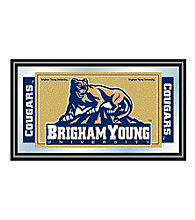 Trademark Games™ Brigham Young University Logo and Mascot Framed Mirror