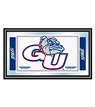 Trademark Games™ Gonzaga University Logo and Mascot Framed Mirror
