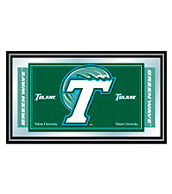 Trademark Games™ Tulane University Logo and Mascot Framed Mirror