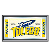Trademark Games™ University of Toledo Logo and Mascot Framed Mirror