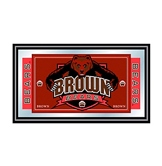 Trademark Games™ Brown University Logo and Mascot Framed Mirror