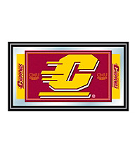 Trademark Games™ Central Michigan University Logo and Mascot Framed Mirror