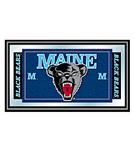 Trademark Games™ University of Maine Logo and Mascot Framed Mirror