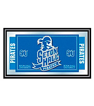Trademark Games™ Seton Hall University Logo and Mascot Framed Mirror