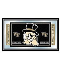 Trademark Games™ Wake Forest University Logo and Mascot Framed Mirror