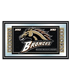 NCAA® Western Michigan University Logo and Mascot Framed Mirror