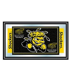 Trademark NCAA® Wichita State Shockers Logo and Mascot Framed Mirror