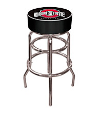 Trademark Games™ Ohio State University Logo Padded Bar Stool - Black