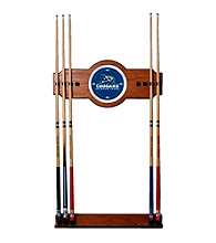 Trademark Games™ BYU 2 Piece Wood and Mirror Wall Cue Rack