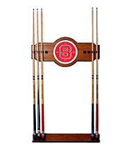 Trademark Games™ North Carolina State 2 piece Wood and Mirror Wall Cue Rack