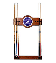 Trademark Games™ Texas Christian University Wood & Mirror Wall Cue Rack