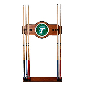 Trademark Games™ Tulane University Wood & Mirror Wall Cue Rack