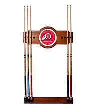 Trademark Games™ University of Utah Wood & Mirror Wall Cue Rack