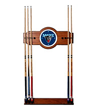 Trademark Games™ University of Maine Wood and Mirror Wall Cue Rack