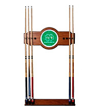 Trademark Games™ University of North Dakota Wood and Mirror Wall Cue Rack