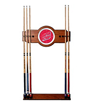 Trademark Games™ University of Dayton Wood and Mirror Wall Cue Rack