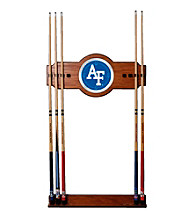 Trademark Games™ Air Force Wood and Mirror Wall Cue Rack