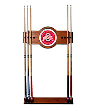 Trademark Games™ The Ohio State University Wood and Mirror Wall Cue Rack