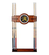 Trademark Games™ Wichita State University Wood and Mirror Wall Cue Rack